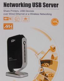 Wholesale M4III Port Networking USB Print Server Printer Share USB HUB Devices Mbps