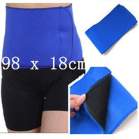 neoprene waist belt - Neoprene Fat Cellulite Burner Slimming Trimming Sweat Sauna Tummy Waist Belt New