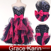 Grace Karin New Fashion Ruffles Short Cocktail Dress Ball Go...