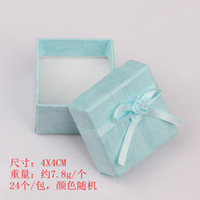 jewellery gift boxes - 4 cm cm fashion display packaging gift boxes jewellery box pendant box earrings box random colors