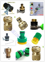 Cheap Car wash watering garden hose set basin quick connector universal joint washing machine 4 6 adapter