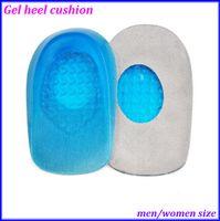 Wholesale Massaging Gel Heel Cushions Men Women Size Insole Wholesales pairs