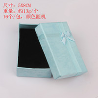 Cheap 96pcs lot Bracelet Jewelry Ring Gift Package Box Case Storage Display 5*6cm, Free Shipping