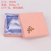Wholesale 48pieces Bracelet Necklace Jewelry Ring Gift Package Box Case Storage Display cm