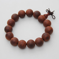 Beaded, Strands Chinese style Unisex New Arrivals Limited Precious Proper Antiquity Red Camwood Wooden Beaded Strand Bangle Bracelet Bracelets