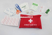 other Yes FAK-01 35pcs set waterproof earthquake first aid kit bag Free shipping CE,FDA,ISO13485 approved