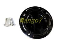 aluminum gas cap - Brand New Black Aluminum Keyless Fuel Tank Gas Cap For Suzuki GSXR black