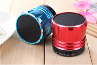 Wholesale S12 Mini Bluetooth Speakers HiFi Music Player Answer With MIC Vibration Android Speaker For iPhone5 S ipad IPAD mini