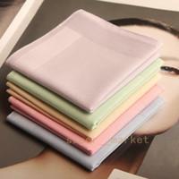 Wholesale Square Cotton Handkerchief Elegant Ladies Pure Love Handkerchief