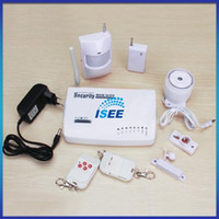 Wholesale Wired and Wireless Defense Zones GSM Alarm