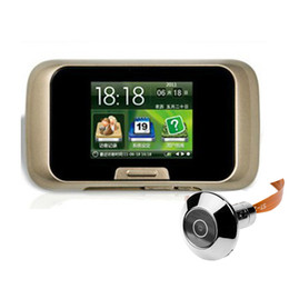 "30PCS 2.8"" LCD Visual Door Peephole Peep Hole Viewer Camera Video Free Shipping"