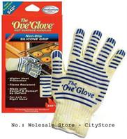 FDA oven mitt gloves - Ove Glove Microwave oven Glove Heat Resistant Cooking Heat Proof Oven Mitt Glove Hot Surface Handler