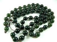 Wholesale Ock dark green necklace beads grade lanyard DIY Bead oil blue