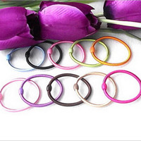 Wholesale High Elasticity Hair Ring Rubber Band Candy Hair Accessories TS0039