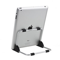Wholesale Retailing Metal Portable Multi Angle Steel Frame Mount Bracket Cradle Stand Holder for iPad P1000