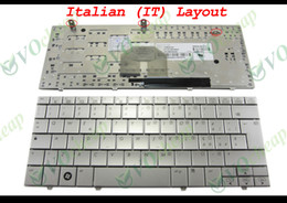 Wholesale New Laptop keyboard for HP Mini Note PC Silver Italian IT Version MP C96I06930