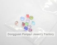 Wholesale Panpan colors mix birthstone for floating locket