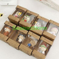 Unisex Birth-12 months Wooden Fedex Free Shipping Wholesale Wooden & Wacky Voodoo Doll Toy Forest Ghost Toy Cell Phone Charm