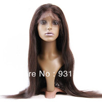 Wholesale Amazing Swiss lace full lace wig lady hair replacement long hair