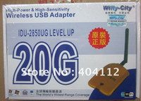 Guangdong China (Mainland) Stock USB 40pcs lot free fedex.Free shipping!!!Wireless WIFI USB 2.0 adapter wifly- city 20G wireless wifi lan card network Cards