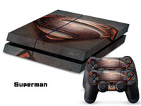 PS4   Vinyl Decal Skin Stickers Wrap For PS4 Play Station 4 Console+ Controllers-Superman 0048