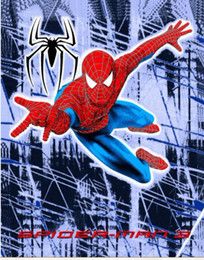 Wholesale Direct Line to AU NZ kids blanket spiderman Quilt polyester infant toddlers cartoon bedspread bed sheet x160cm