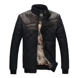 Wholesale cheap mens coats outwear men down coats fashion man outwears warm winter men s down coats high quality leather down coat outwear