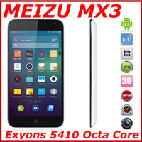 Wholesale Original inch MEIZU MX3 Exynos Octa Core Flyme3 Smart phone GB RAM GB GB GB ROM MP IPS Screen WiFi GPS hot sale