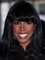 wavy African-American Wigs Christmas Chic Long Straight Capless Synthetic Wigs For Black Women