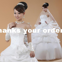 A-Line Model Pictures Velvet Pleasant Bra princess bride wedding dress 2011 new models real shot Qi wedding D30024