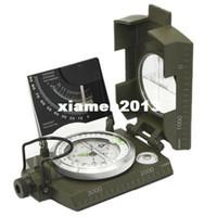 Compasses metal compass - Professional Military Optical Sighting Metal Compass
