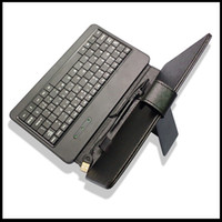 Wholesale New Arrival Leather Case With USB Keyboard For inch Pen ePad aPed iRobot Android Tablet PC MID
