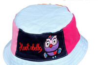 Girl Summer Visor Free shipping Brand New Giggle and Hoot BUCKET HATS boy cotton cap hat children hats