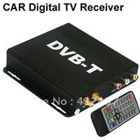 Cheap Car Freeview Mobile Digital TV DVB-T Receiver Tuner Set Box MPEG2 MPEG4 H.264 AVC Receiver for Home Boat