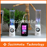 Wholesale LED Dancing Water Show Music Fountain Light Mini Speaker for Laptop PC iPhone