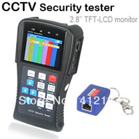 Wholesale Portable inch TFT LCD UTP Cable and PTZ CCTV Security Camera Tester