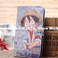 For Samsung Leather Black Free Shipping+ONE PIECE protective case cartoon protective case mobile phone case luffy For samsung galaxy S3 s III i9300