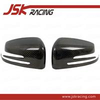 Wholesale Carbon Fiber Side Mirror Cover For Benz C Class W204 Pieces Car Trim JSK060125