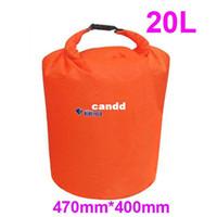 Wholesale 8PCS L S Size Waterproof Dry Bag for Canoe Kayak Rafting Camping