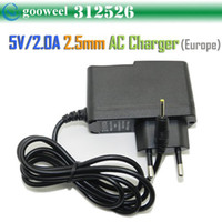 Wholesale cheap newFreeshipping V A DC mm Europe Plug Converter Charger Power Supply Adapter for ALL mm jack Tablet PC