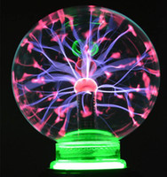 Wholesale 3 Inch Electric Plasma Ball USB Car Power Sound Control Sensing Lightning Magic Balls for Home Decor Valentine s Day Birthday Gift Children
