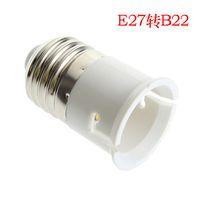 Wholesale Lamp light adaptor Lamp holder converter E27 TO B22 KK22