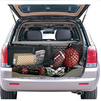 Wholesale Interior accessories ratchet strap Luggage Rear Trunk Cargo Net Envelope Organizer