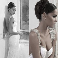 New royal Style Inbal Dror Lace Wedding Dress White Mermaid ...