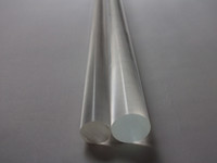 Wholesale Plexiglass Clear Rods OD18x1000mm Acrylic Rod A Straight Line Stick Can Be Used In Various Places Can Cut Any Size