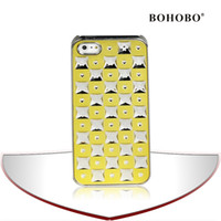 Wholesale Bling Hard Case for Iphone S Electroplating Phone Case for Iphone S Baterry Iphone Case