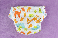 Wholesale Baby Toddler Infant Reusable Cloth Diaper nappy insert re usable drop shipping