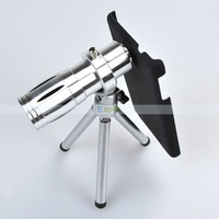 For Samsung Galaxy Note 3 China Mainland Phone camera lens zoom Wholesale-12X Magnification Universal Mobile Phone zoom Telescope Magnifier Optical Camera Lens For Samsung Galaxy Note 3,Free Shipping