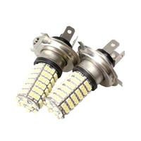 Wholesale S5Q Car Auto LED SMD H4 White Fog Light Driving Headlight Lamp Bulb AAACQR