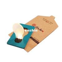 Wholesale Pocket Funny Credit Card LED Light Lamps Wallet Light